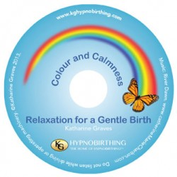 Picture of the Colour and Calmness CD, by KG Hypnobirthing
