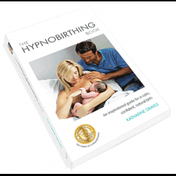 Photo of the Katharine Graves The Hypnobirthing Book